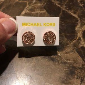 Michael Kors Earrings Rose Gold